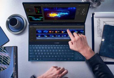 ordinateur portable à écran tactile