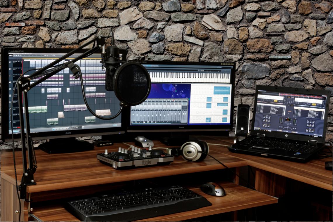 ordinateur portable pour la production musicale